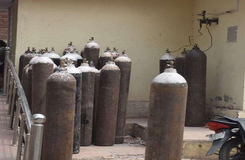 जिले में ऑक्सीजन संकट: अब केवल धौलपुर में ही होगा कोविड मरीजों का इलाज