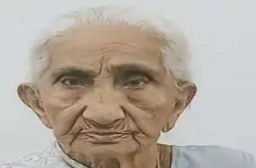 93 वर्ष की नर्मदाबेन ने दृढ़ मनोबल से 6 दिन में कोरोना को दी मात