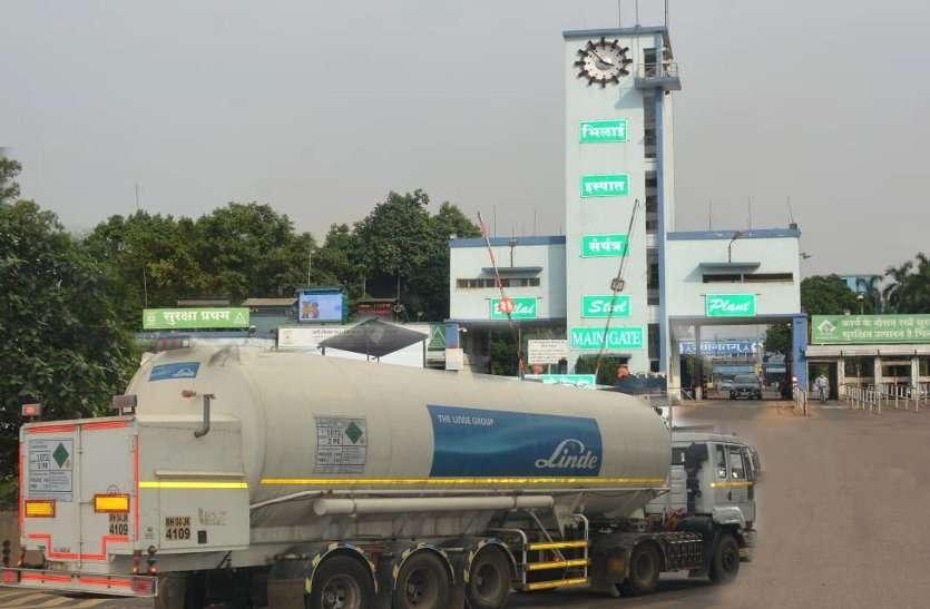 CG की 2.50 करोड़ आबादी को सांसें देना वाला जिला बना दुर्ग, BSP ने बढ़ाया उत्पादन अब 11 निजी टैंकर्स से हो रही ऑक्सीजन सप्लाई