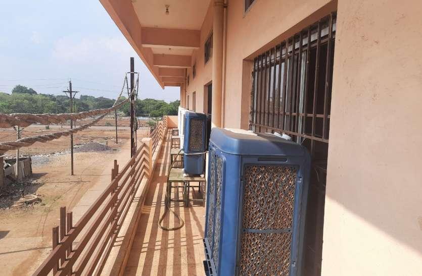 Breaking news गृहमंत्री के विधानसभा क्षेत्र में25 बेड का आइसोलेशन सेंटर तैयार, ऑक्सीजन बेड की भी व्यवस्था