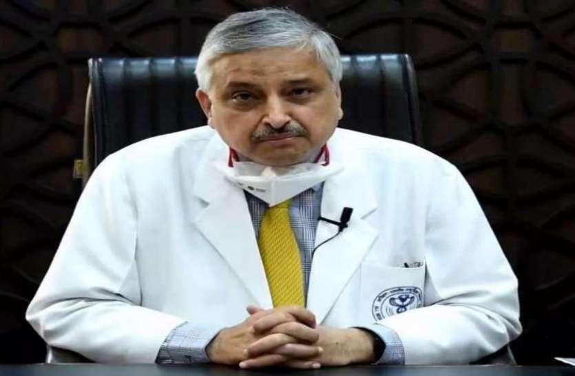 AIIMS डायरेक्टर डॉ. रणदीप गुलेरिया बोले- कोरोना होने पर भी बिना जरूरत न कराएं सीटी स्कैन