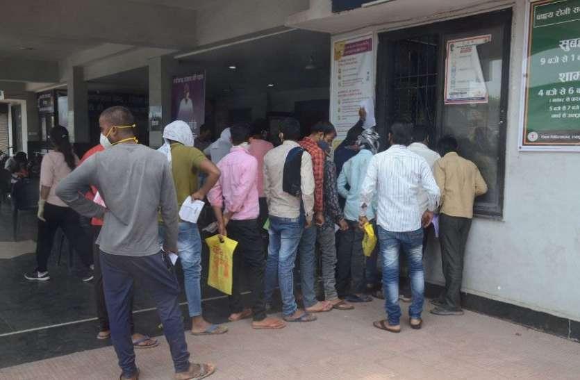 कोरबा, जांजगीर और रायगढ़ में कोरोना की रफ्तार तेज