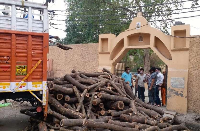 गाजियाबाद में जगह फुल होने पर साहिबाबाद में बनवाया गया नया श्मशान घाट