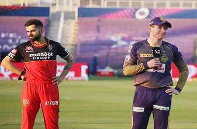 IPL 2021 : RCB और KKR के बीच खेले जाना वाला 30वां मैच हो सकता है स्थगित