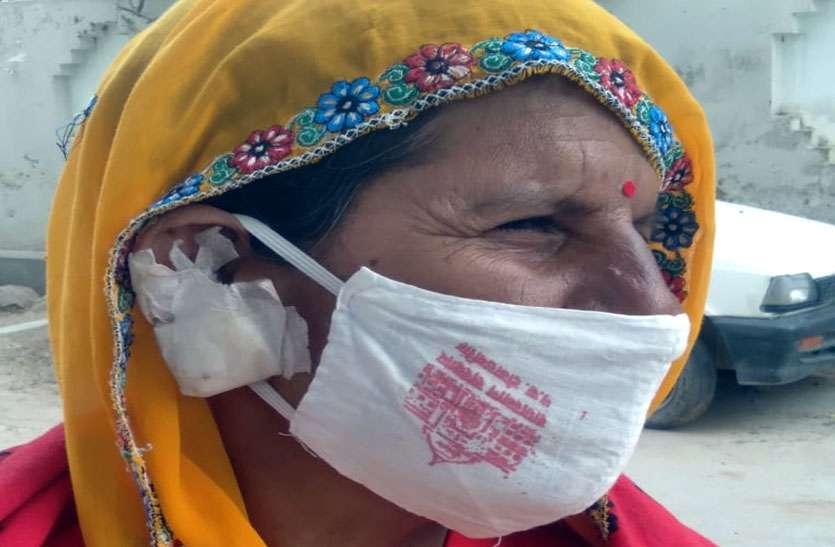 महिला पर जानलेवा हमला कर कानों के टॉप्स छीन ले गए बदमाश