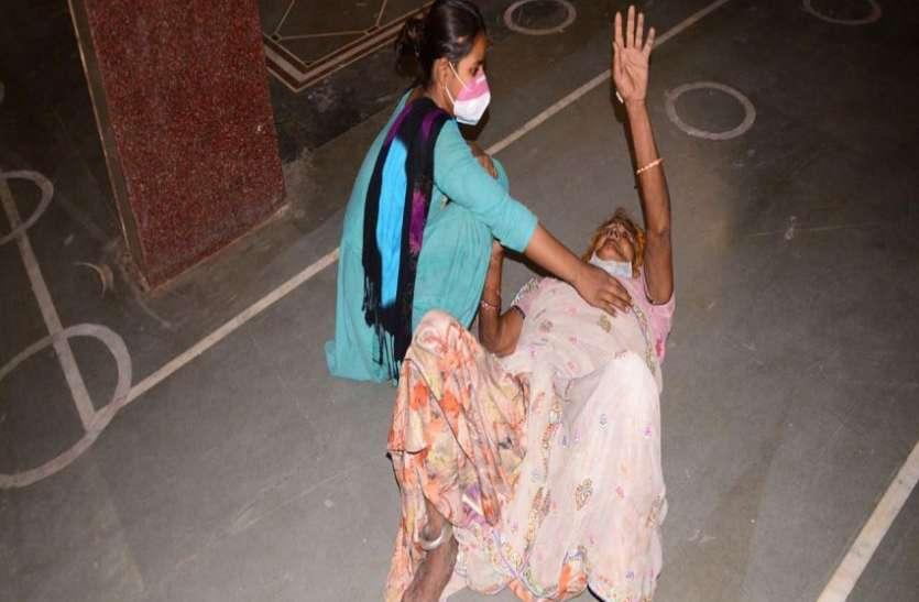 Corona News...एसआरजी अस्पताल की व्यवस्थाएं वेन्टीलेटर पर