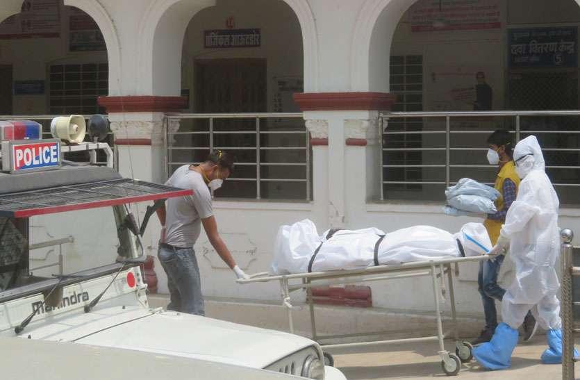 टोंक सआदत अस्पताल के कोविड वार्ड में सात की मौत