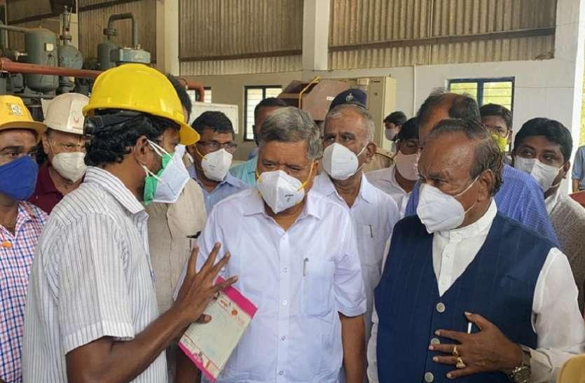 वीआईएसएल में ऑक्सीजन उत्पादन क्षमता बढाई जाएगी