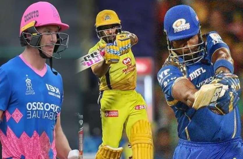 IPL 2021 : 3 बल्लेबाज जिन्होंने एक पारी में लगाए सबसे ज्यादा छक्के