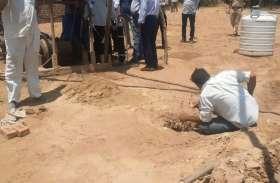 सांचौर: बोरवेल में गिरा 4 साल का मासूम, बचाव में जुटा दल, पानी और ऑक्सीजन पहुंचाई