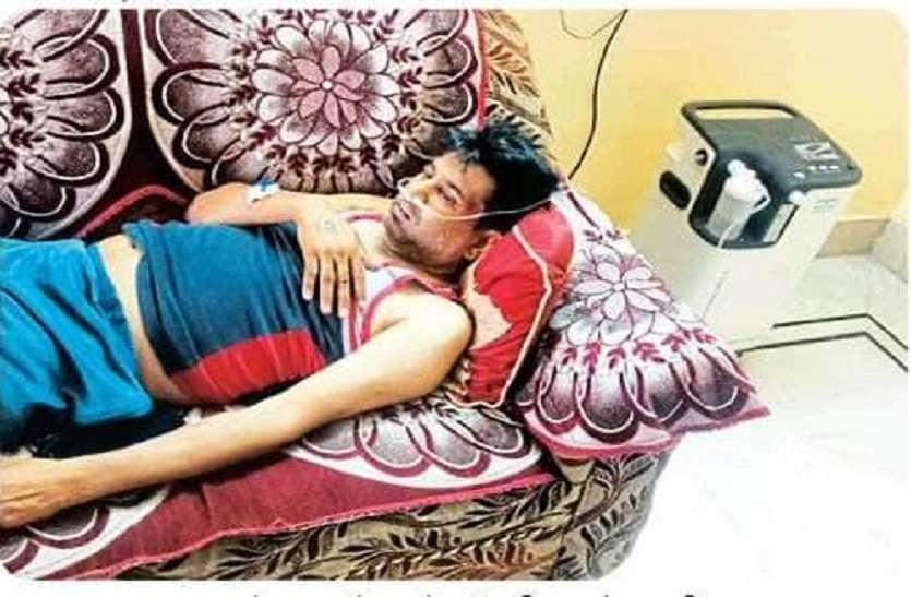 हर घंटे 50 कॉल, आरबीएम के डॉक्टर ने मां के लिए अपना घर से मांगी ऑक्सीजन