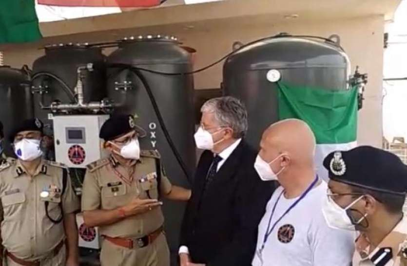 भारत में कोरोना महामारी के बीच मदद को आगे आई Italy सरकार, 48 घंटे में स्थापित कर दिया Oxygen Plant