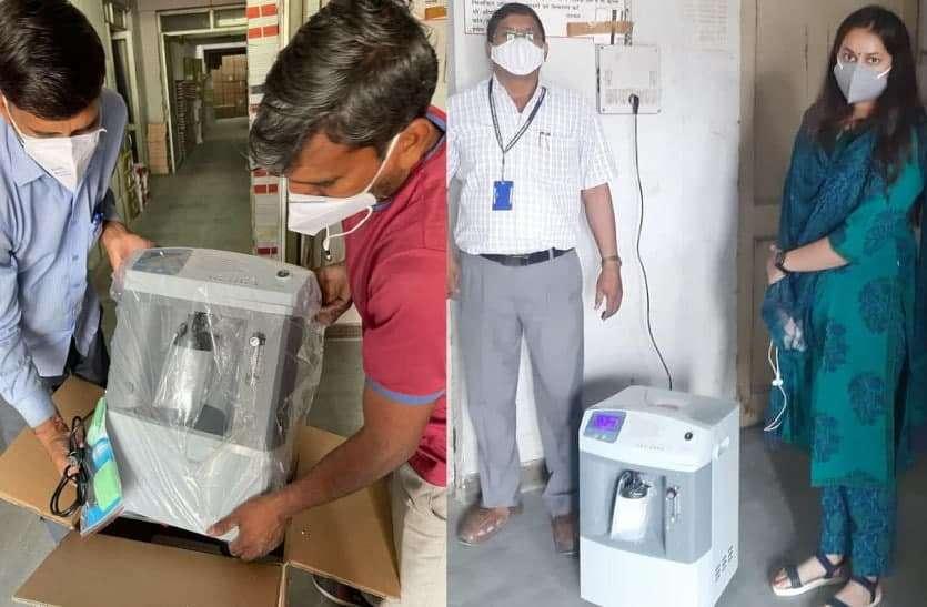 रशिया से राजस्थान पहुंची ऑक्सीजन कंसंटे्रटर की पहली खेप, बढ़ते 'दबाव' से मिलेगी 'राहत'!