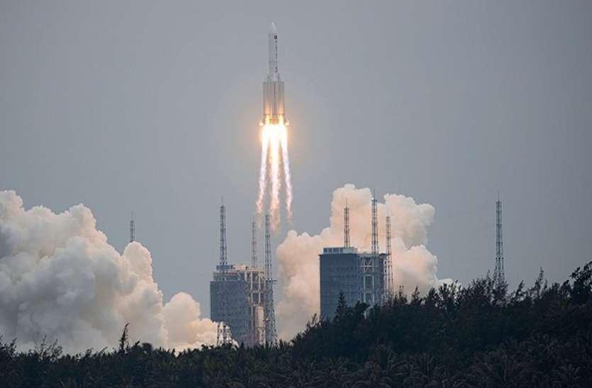 धरती पर आज गिरेगा चीन का बेकाबू रॉकेट, मचा सकता है बड़ी तबाही