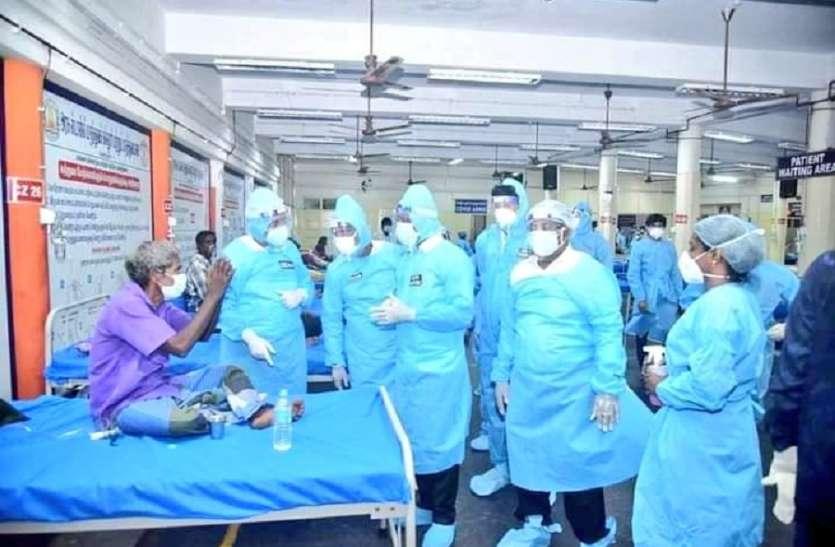 15 मई तक तमिलनाडु में तैयार होंगे 12,500 ऑक्सीजन वाले बेड: स्वास्थ्य मंत्री मा सुब्रमण्यन