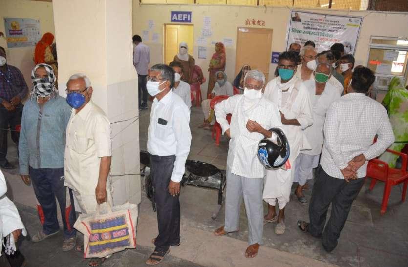 जिले में 17 हजार से अधिक लोगों के लगा राहत का टीका