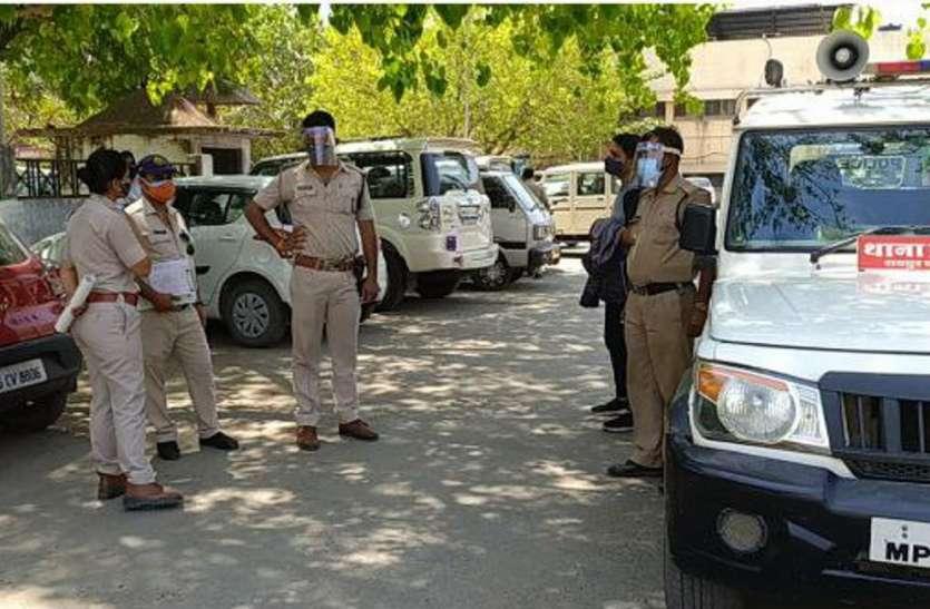पुलिस विभाग में बढ़ते कोरोना संक्रमण को लेकर अधिकारी चिंतित