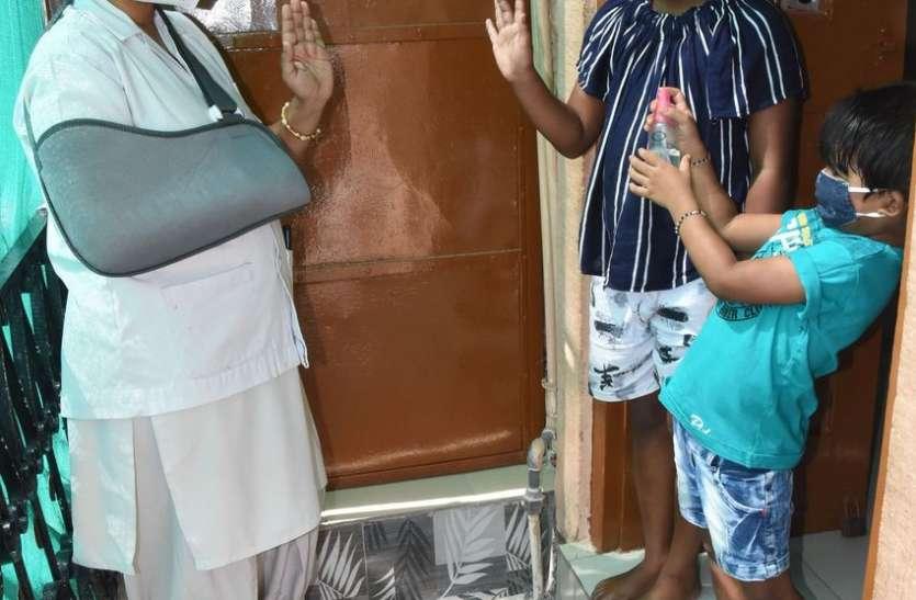 Mother's Day Special- कोविड वार्ड में ड्यूटी करने से बेटियों से बनाई दूरी