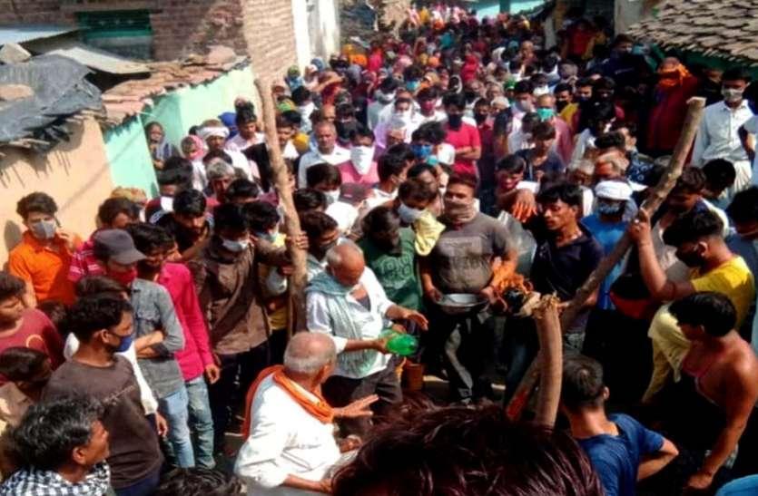 Jhalawar Police Action....घास भैंरू की सवारी में जुटी सैकड़ों की भीड़, 22 पर केस