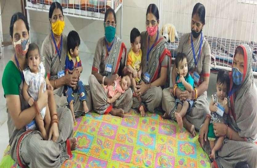 कोरोनाकाल में भी ममता की सुरक्षित छांव में 71 नौनिहाल