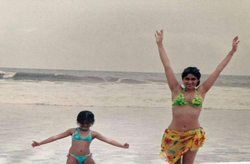 अनन्या पांडे ने बिकिनी में शेयर की मां के साथ फोटो