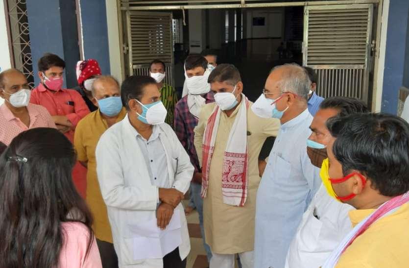 कोरोना संक्रमण बेकाबू रहा तब नहीं दिखे, सांसद और बीजेपी नेताओं को अब याद आया निरीक्षण!
