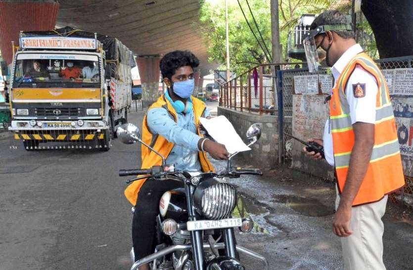 कोरोना कर्फ्यू के पहले 10 दिन में बेंगलूरु शहर में 32 फीसदी बढ़े कोविड मरीज