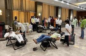SURAT NEWS DAYRI: माहेश्वरी सेवा सदन में 104 यूनिट रक्तदान
