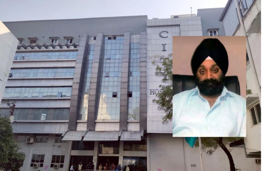 city hospital director sarabjit singh mokha sales fake remdesivir inj