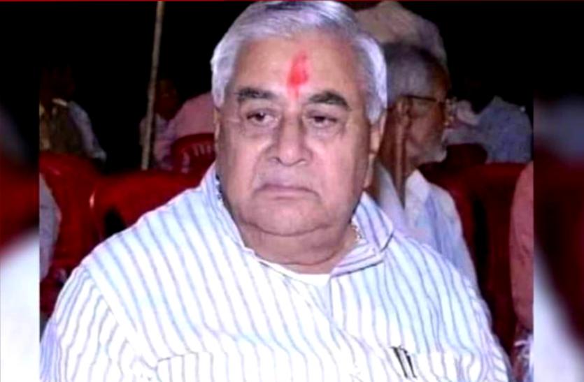 पूर्व मंत्री और भाजपा विधायक जुगल किशोर बागरी का निधन, कोरोना से रिकवर होने के बाद आया हार्ट अटैक