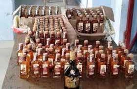 कोरोना काल में भी बदस्तूर जारी है शराब का अवैध कारोबार