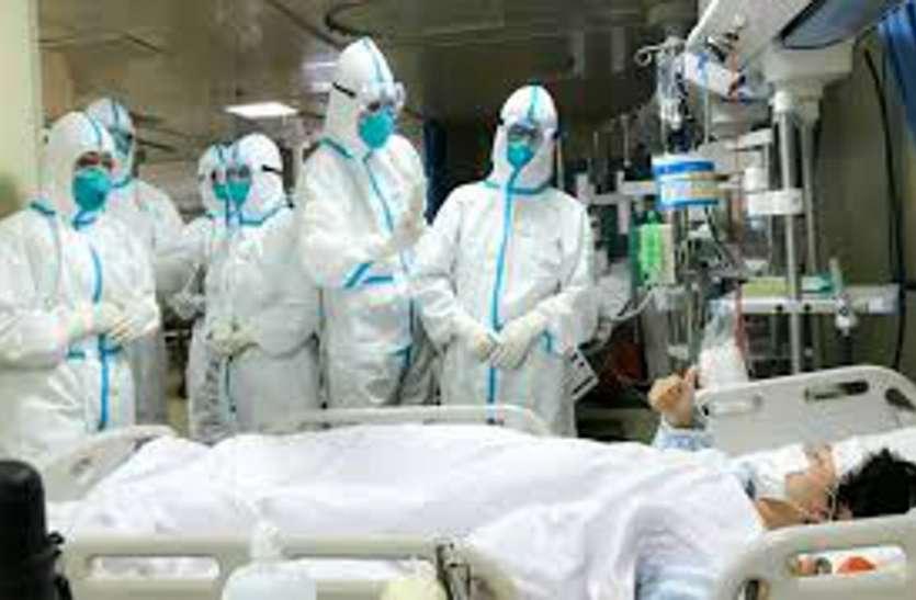 अहमदाबाद शहर के अस्पतालों में... कोरोना उपचार के लिए डेढ़ हजार से अधिक बेड खाली