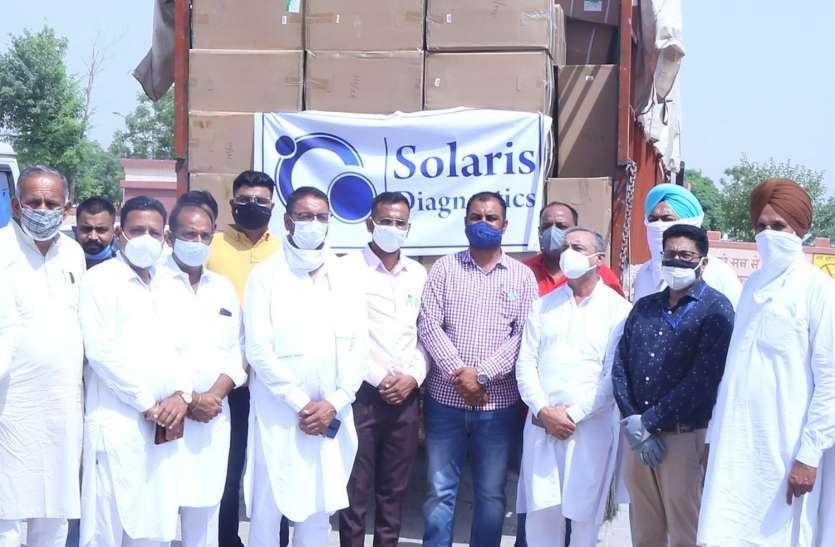 अमेरिका निवासी प्रीतपाल सिंह ने हनुमानगढ़ के लिए चीन से भिजवाई 335 ऑक्सीजन कॉन्सेंटर मशीन