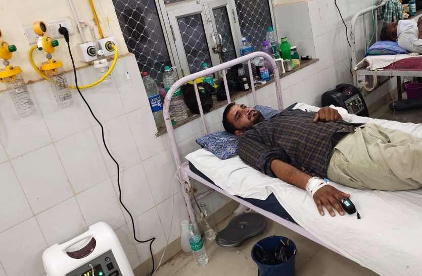 हनुमानगढ़ जिला अस्पताल को आवंटित 100 ऑक्सीजन कॉन्सेंटर, तीस तो रोगियों के लगाए