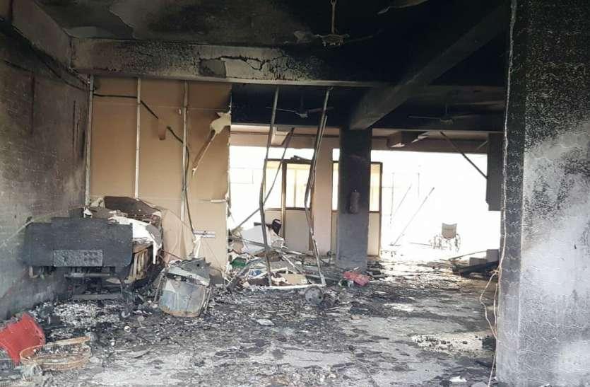 Gujarat: भरूच के कोविड अस्पताल में आग लगने की घटना में प्रतिवादियों से मांगा जवाब