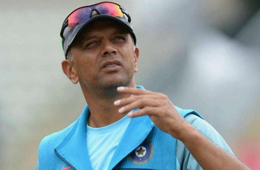 श्रीलंका दौरे पर टीम इंडिया की कमान संभाल सकते हैं द्रविड़