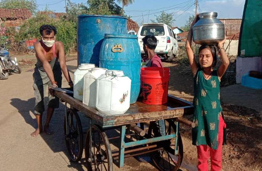 नलजल योजना ठप: सारसडोली में गहराया जल संकट