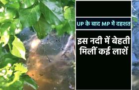 UP के बाद अब MP की इस नदी में बहती मिली कई लाशें, ग्रामीणों में दहशत, कोरोना ग्रस्त शव होने की आशंका