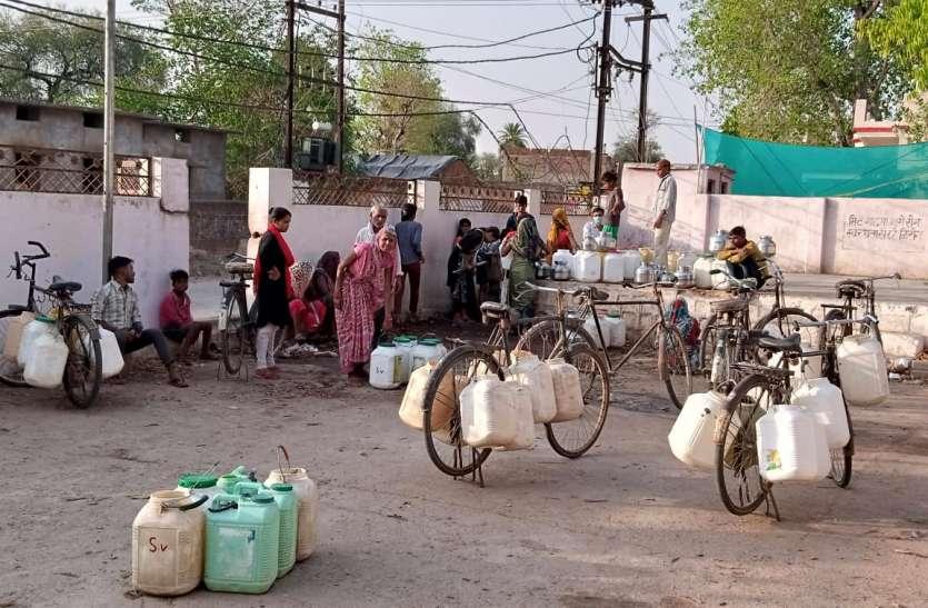 संक्रमण काल शुरू होते ही पीएचई विभाग हुआ निष्क्रीय, ग्रामीण क्षेत्रों में पेयजल संकट