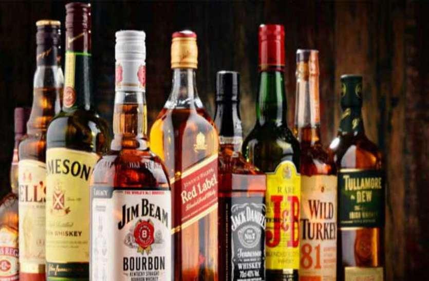 कार -वैन से हो रही विदेशी शराब की तस्करी