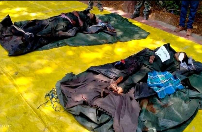 छत्तीसगढ़-महाराष्ट्र बॉर्डर पर मुठभेड़, एक घंटे की फायरिंग में जवानों ने मार गिराए दो वर्दीधारी हार्डकोर माओवादी