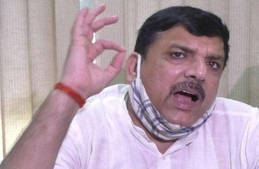 एक ही वैक्सीन केन्द्र को 150 रुपए में तो राज्य को 400 रु में क्यों? : संजय सिंह