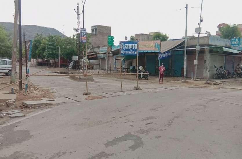 राजस्थान में यहां सबसे कड़ा लॉक डाउन लगा, बिना अनुमति घर से बाहर निकलने पर रोक, इलाके को सील कर पुलिस तैनात