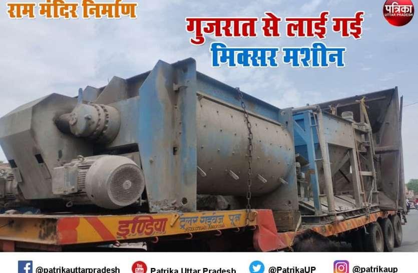 Ram Mandir Nirman : बरसात से पहले पूरा होगा ग्राउंड इंप्रूवमेंट का कार्य