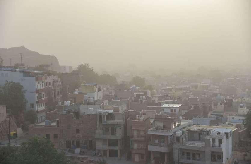 मारवाड़ में पारा फिर 40 के पार, कल से बादल-बरसात का मौसम