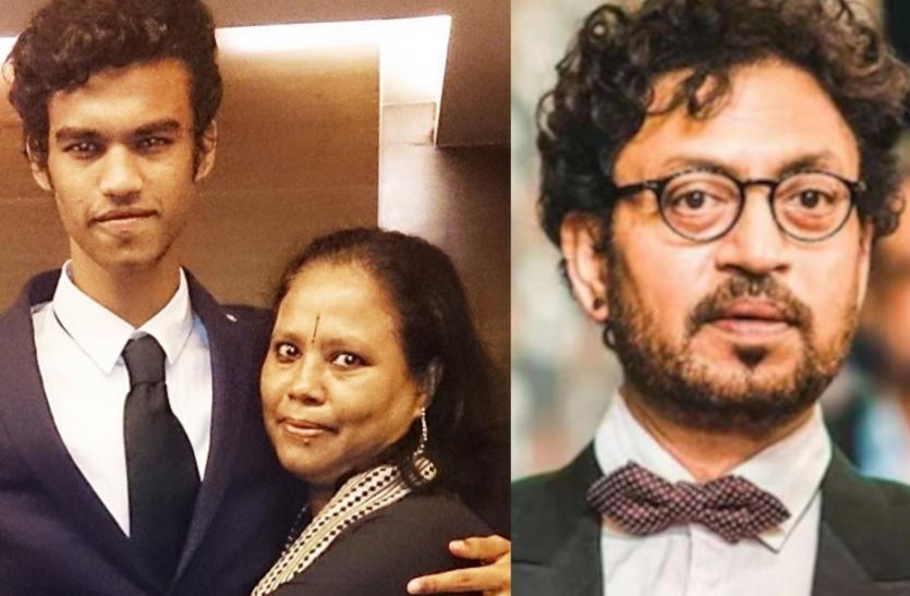 इरफान खान के बेटे बाबिल ने मां सुतापा को दुख पहुंचाने के लिए मांगी माफी