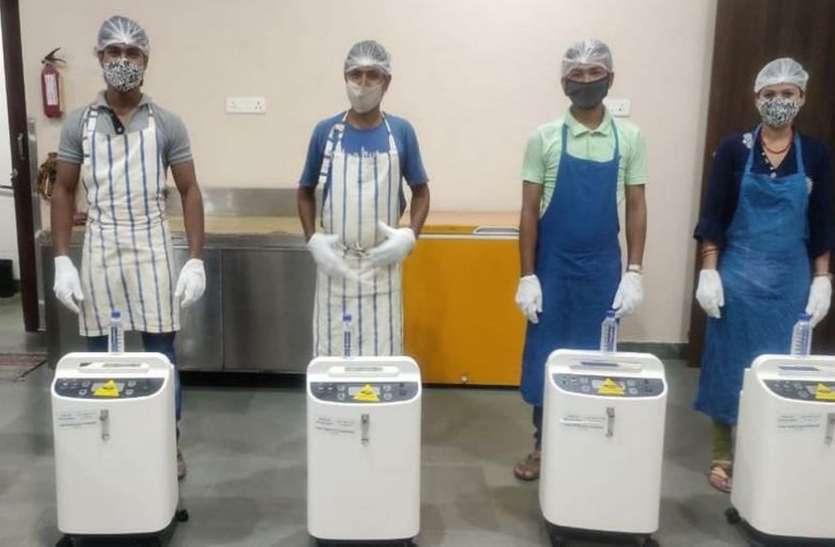 रिकॉर्ड समय में जयपुर फूट यूएसए ले पाया रूस से ऑक्सीजन कंसंटे्रटर