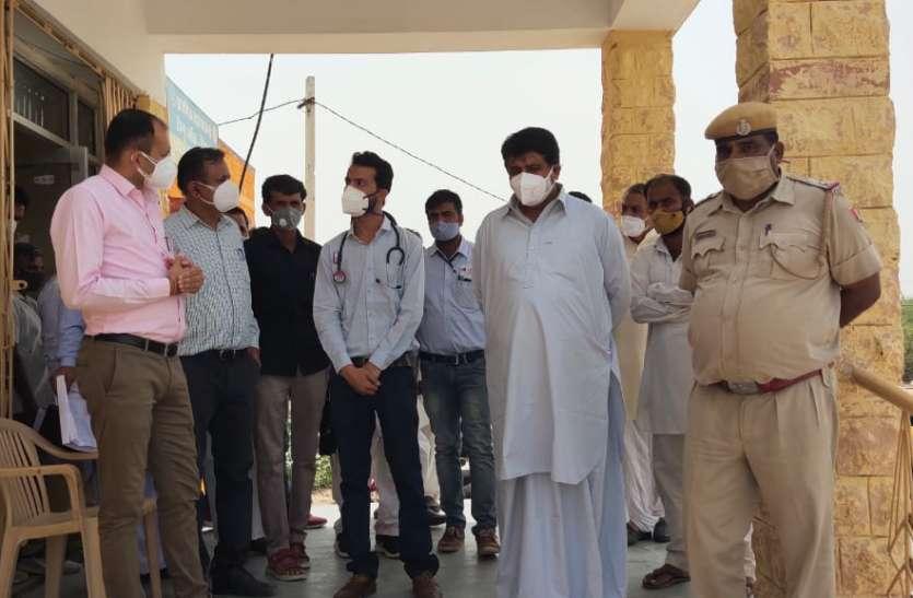 अल्पसंख्यक मामलात मंत्री ने देखे नहरी क्षेत्र के अस्पतालों के हालात