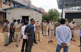 नागौर के जेएलएन अस्पताल में आग की सूचना पर दौड़े अधिकारी
