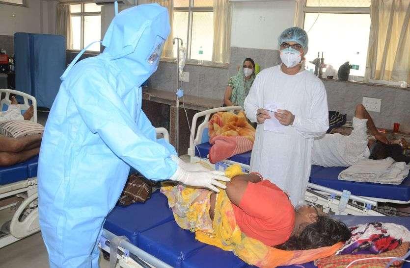 कोरोना से राहत : अजमेर जिले में संक्रमित मरीजों की रफ्तार पड़ी मंदी